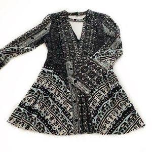 Free People • Tegan Boho Mini Dress